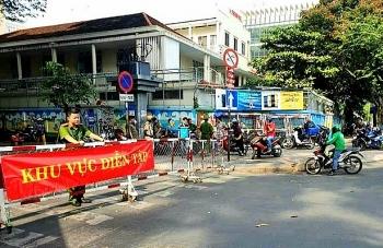 luc luong canh sat co dong trien khai phuong an dien tap chong bao dong