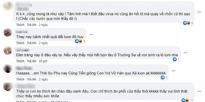 thu vi voi clip duoi virus corona ve vu han bang chao dau xanh va phi thuyen tren mang xa hoi