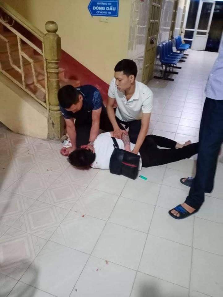 Triệu Sơn (Thanh Hóa): Nam thanh niên bị người lạ hành hung dã man trong Bệnh viện