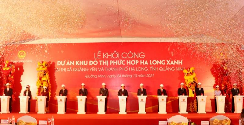 Tỉnh Quảng Ninh khởi công chuỗi 4 dự án tỉ USD
