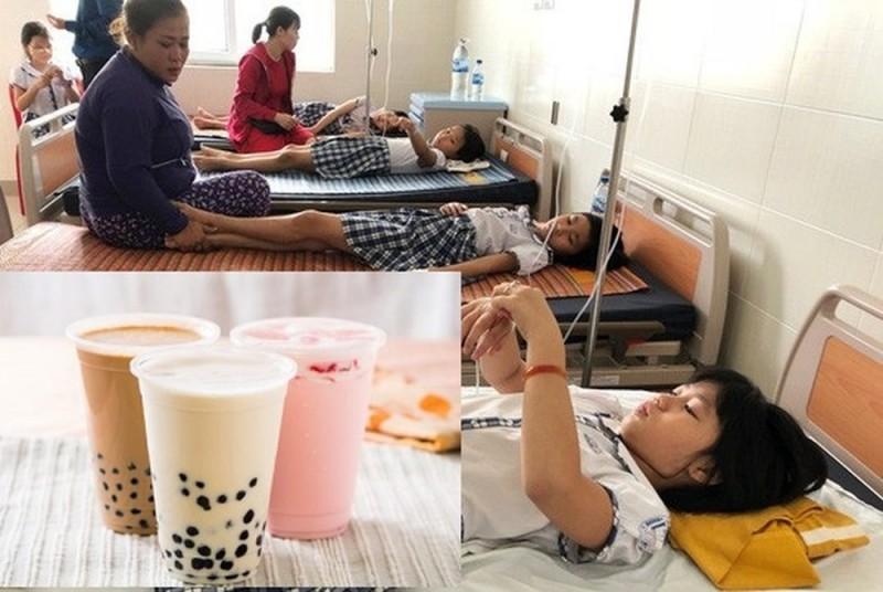 Hôn mê, máu trắng vì uống trà sữa mỗi ngày