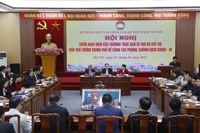 Mặt trận Tổ quốc Việt Nam chăm lo tết cho người nghèo xuân Tân Sửu