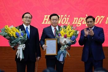 Hà Nội: Ông Vương Đình Huệ được bổ nhiệm làm Bí Thư Thành ủy thay ông Hoàng Trung Hải