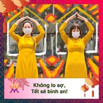 5k 1 6 khong khau hieu huong ung phong chong covid 19 cua bao tang phu nu viet nam