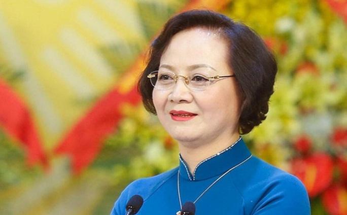 Bổ nhiệm cán bộ nữ duy nhất cho chiếc ghế bộ trưởng bộ Nội vụ
