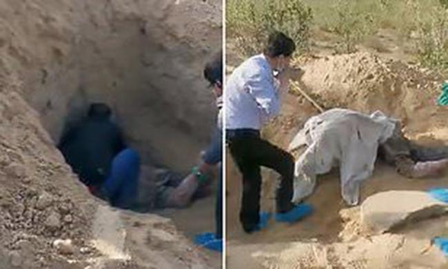 Bà cụ 79 tuổi bị con trai chôn sống 3 ngày không chết