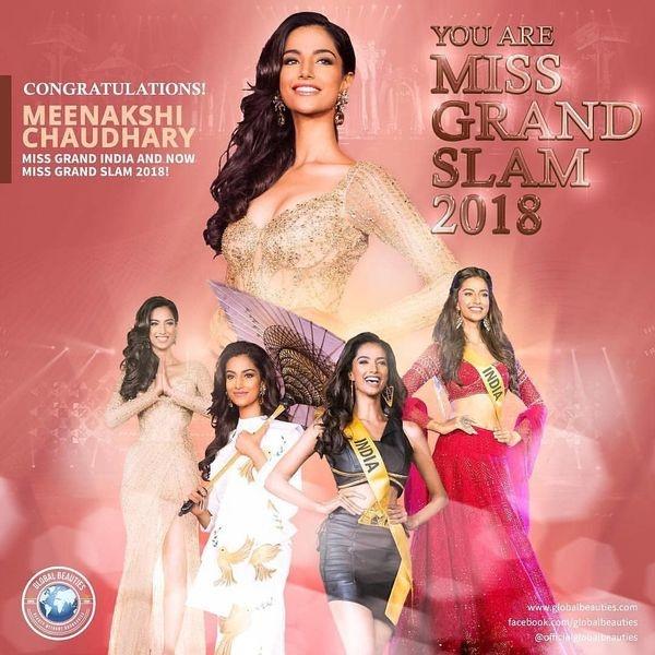 Á hậu Hòa bình Quốc tế đại diện Ấn Độ sẽ đối đầu Hoàng Thùy tại Miss Universe 2019?