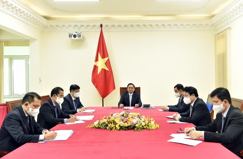 Pháp nhất trí hỗ trợ Việt Nam và cung cấp vaccine phòng COVID-19