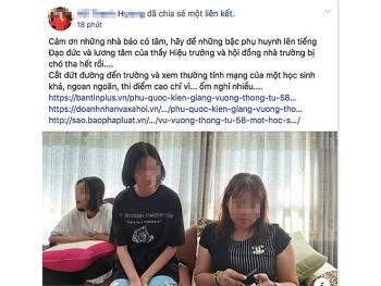 Á hậu doanh nhân Phú Quốc nói sẵn sàng xin lỗi nhà trường về vụ con bị lưu ban