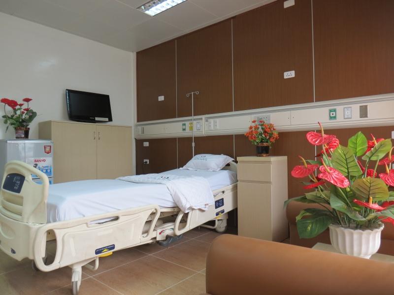 Giá giường dịch vụ bệnh viện sẽ ngang giá phòng khách sạn