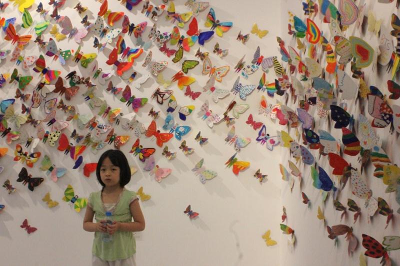 Hóa thành bươm bướm- giấc mơ của trẻ em khuyết tật