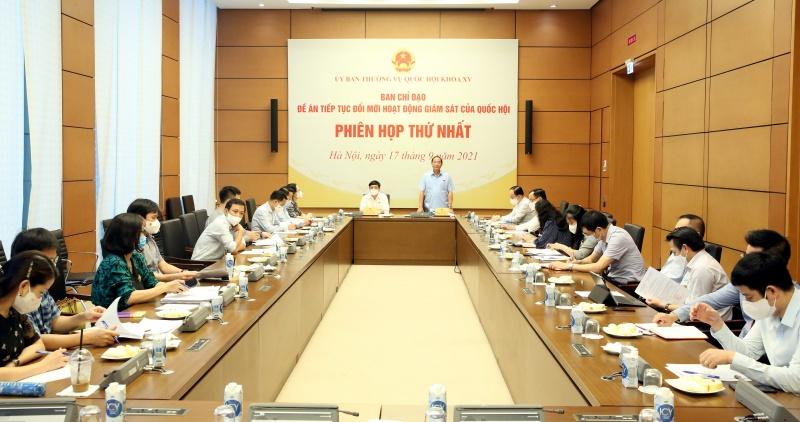 Đổi mới hoạt động giám sát của Quốc hội