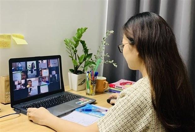 Tập huấn dạy trực tuyến cho giáo viên Tiểu học