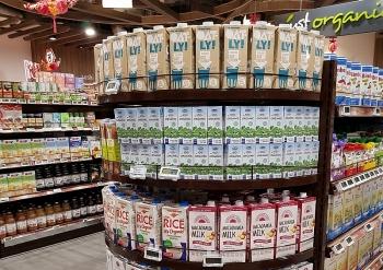 Sữa tươi của Vinamilk đã trở nên quen thuộc với người dân Singapore