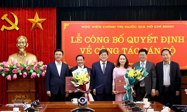 Học viện Chính trị Quốc gia Hồ Chí Minh bổ nhiệm lãnh đạo