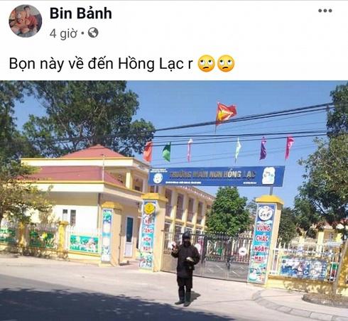 thanh nien dong gia nguoi mat den bi an de dang facebook cau like dang bo tron