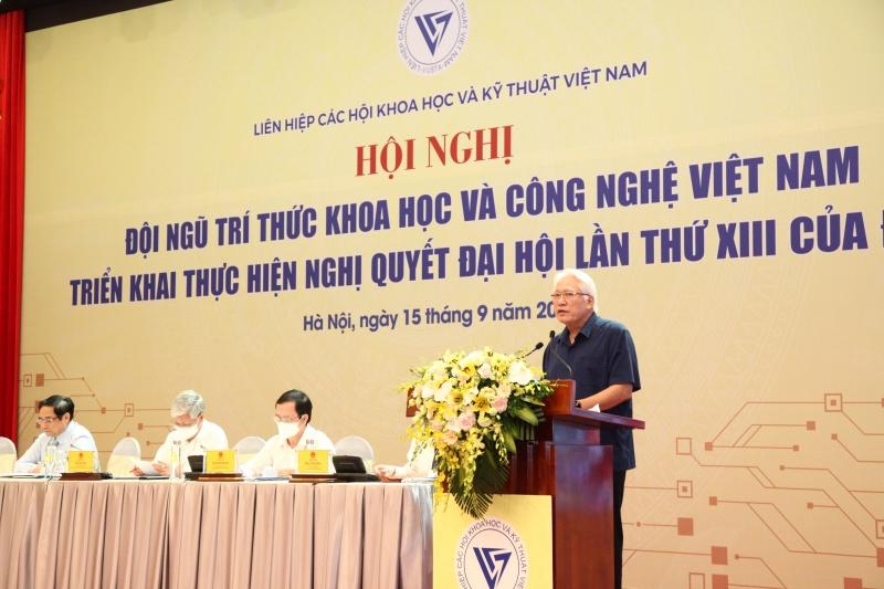 Đại biểu Quốc hội, PGS.TS. Nguyễn Chu Hồi, Phó Chủ tịch Thường trực Hội Nghề cá Việt Nam