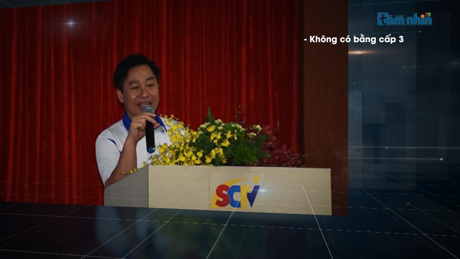 Phó Tổng Giám đốc công ty Truyền Hình Cáp: Saigon Tourrist sử dụng bằng giả.