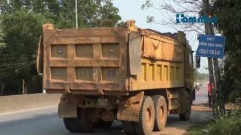 Quảng Nam: Vận chuyển khoáng sản từ Mỏ đất đồi Gò Vang gây ô nhiễm môi trường và mất an toàn giao thông.