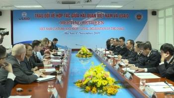 Trao đổi về hợp tác giữa hải quan Việt Nam và USAID