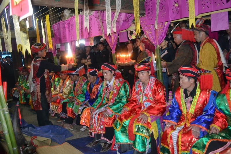 Lễ cấp sắc của người Dao đỏ ở Lào Cai