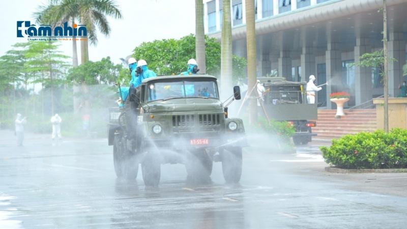 Hà Nội chuẩn bị tổ chức phun khử khuẩn diện rộng trên địa bàn Thủ đô