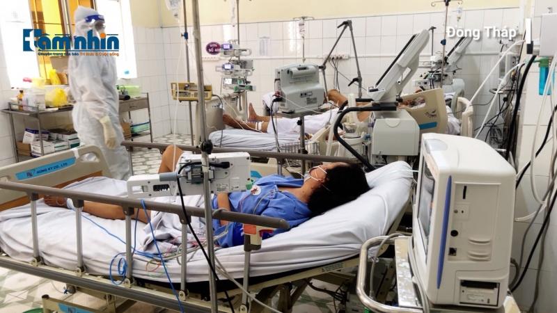 """""""Bệnh viện đk trung ương Huế hỗ trợ Đồng Tháp điều trị những bệnh nhân COVID-19 nặng"""""""