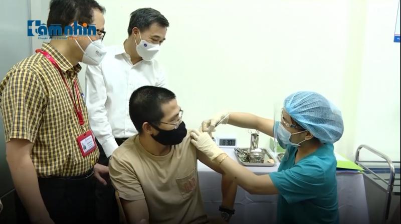 Việt Nam thử nghiệm lâm sàng vaccine ARCT-154