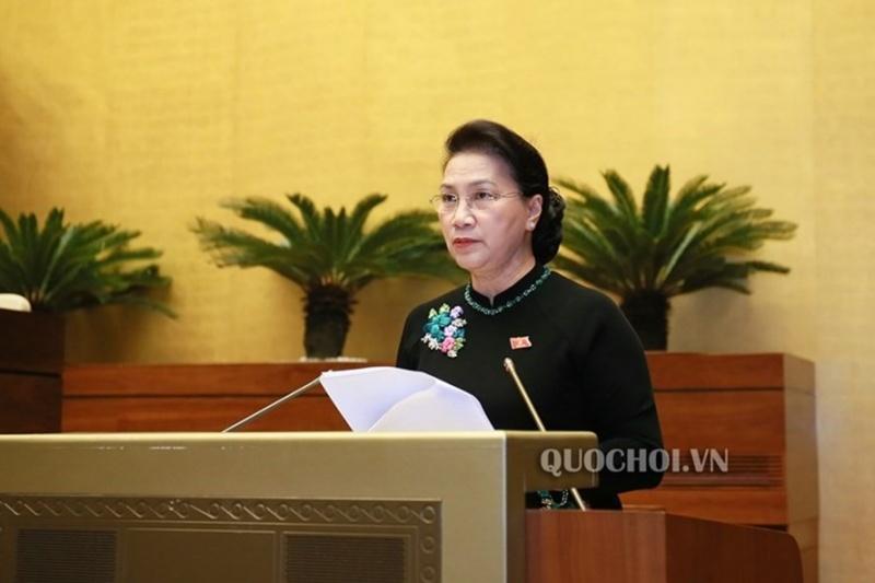 Chủ tịch Quốc hội ghi nhận sự nghiêm túc, cầu thị, tinh thần trách nhiệm của các thành viên Chính phủ