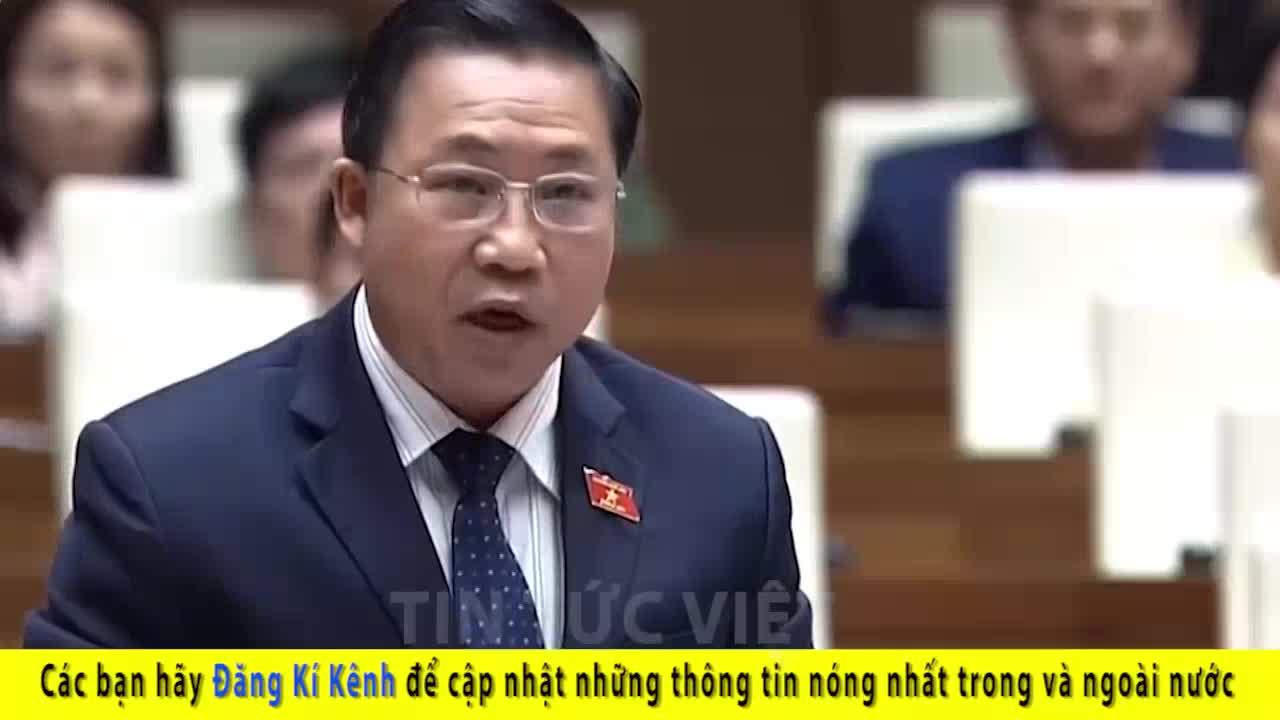 ĐB Lưu Bình Nhưỡng lại khiến Hội Trường xôn xao với bài phát biểu