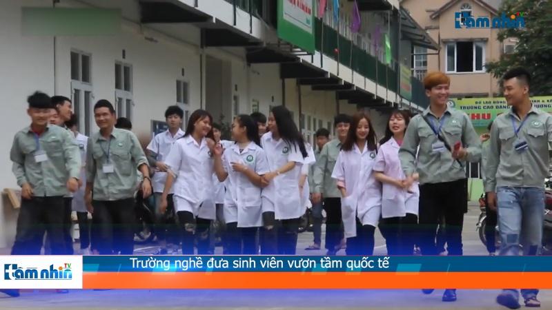 Trường nghề đưa sinh viên vươn tầm quốc tế