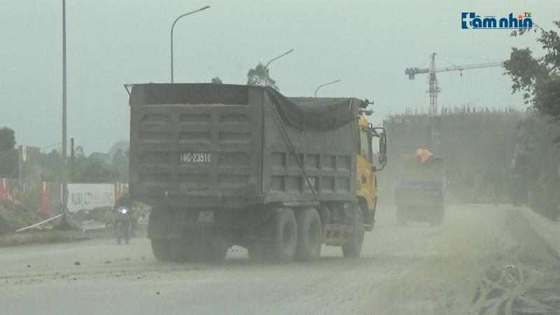 Quảng Ninh: TP. Hạ Long xe quá khổ quá tải lộng hành