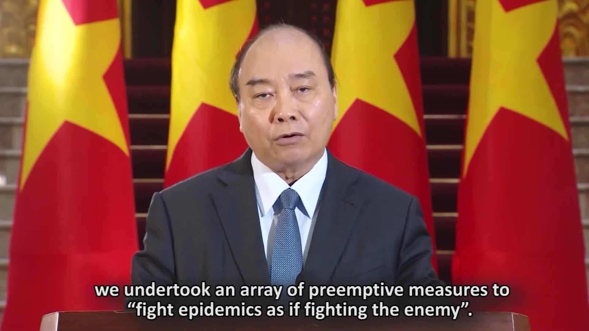 Thông điệp của Thủ tướng Chính phủ gửi Hội nghị trực tuyến của WHO