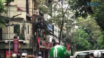 Hà Nội: Cần đẩy nhanh tiến độ hạ ngầm đường dây điện và dây cáp