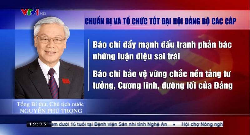 Tổng bí thư, Chủ tịch nước Nguyễn Phú Trọng: 'Không để lọt vào cấp ủy người chạy chức, bè phái'