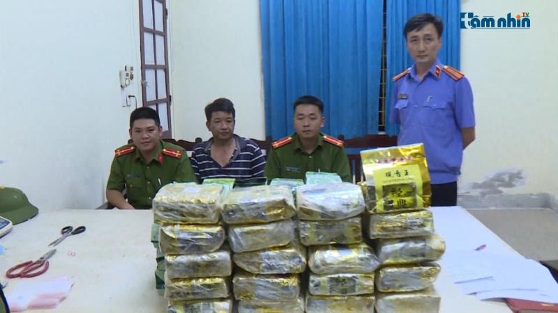 Nghệ An: Triệt phá thành công đường dây ma túy xuyên quốc gia