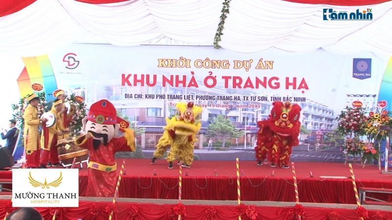 Bắc Ninh: Khởi công dự án khu nhà ở thương mại Trang Hạ