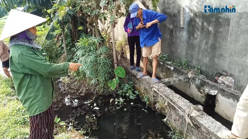 Thạch Thất - Hà Nội: Cụm CN Bình Phú xả thải gây ô nhiễm