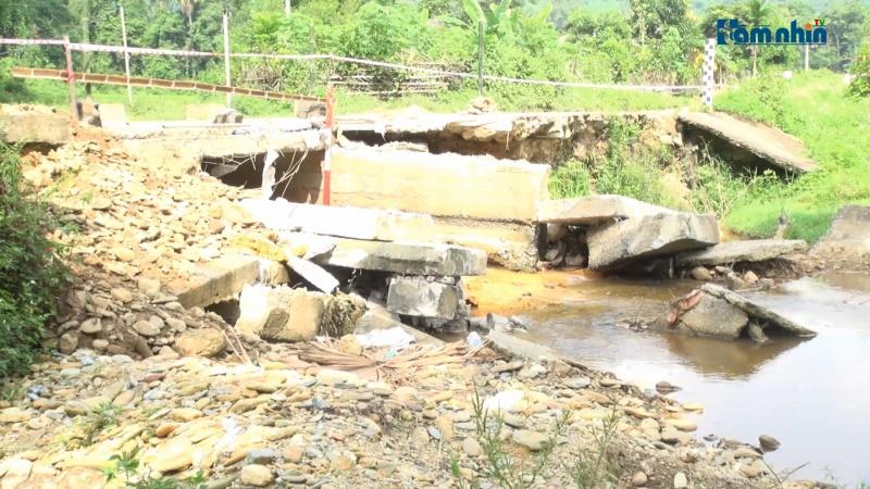 Nghệ An: Cầu tràn xuống cấp, tiềm ẩn nguy hiểm trong mùa mưa lũ