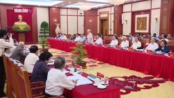 Lấy ý kiến các đồng chí nguyên lãnh đạo Đảng, NN góp ý vào Báo cáo chính trị Đại hội XIII của Đảng