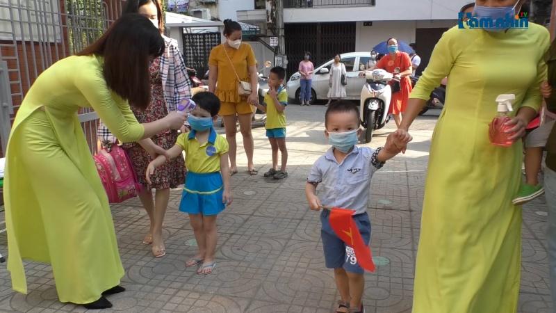 Trường Mầm non Sao Mai vui tươi, an toàn trong Ngày hội toàn dân đưa trẻ đến trường