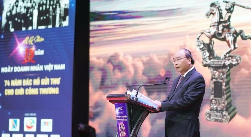 Thủ tướng dự kỷ niệm Ngày Doanh nhân Việt Nam