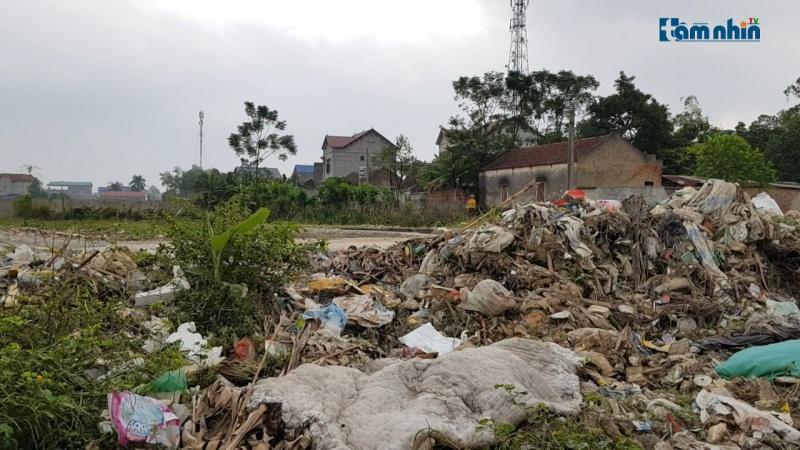 KCN Trung Thành - Thái Nguyên: Đất vàng trở thành bãi chứa rác