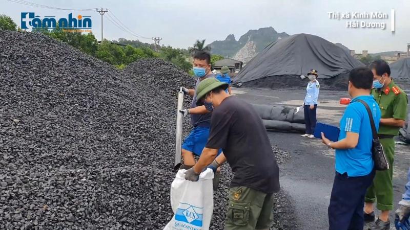 Phát hiện hàng chục nghìn tấn than không rõ nguồn gốc