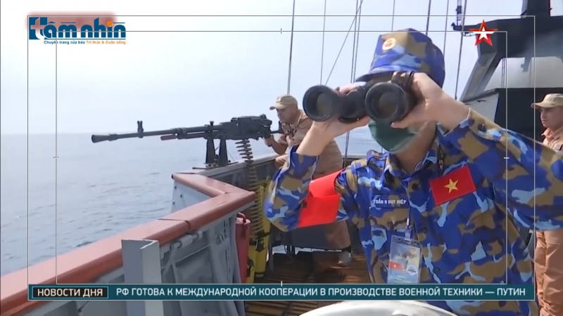 Hải quân Việt Nam lập kỳ tích, chiến thắng 2 tuyển Nga và Trung Quốc