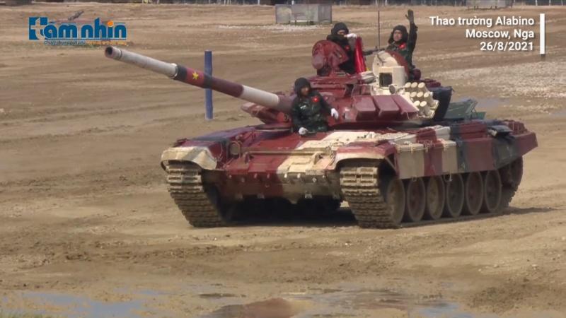 Kíp xe Việt Nam về đích thứ ba ở trận đấu quyết định