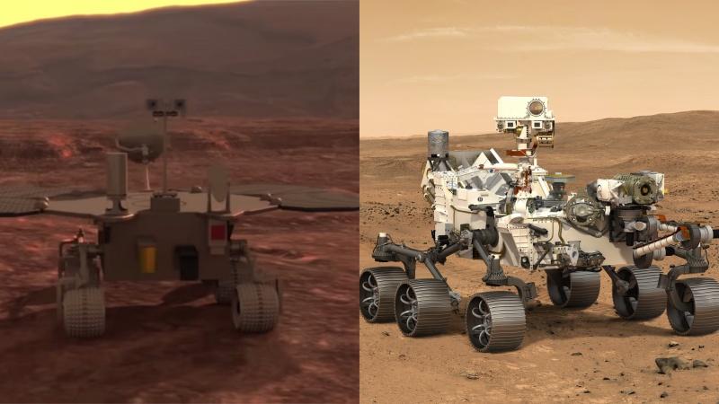 Tàu thám hiểm di chuyển đạt mốc 1.000 m trên sao Hỏa