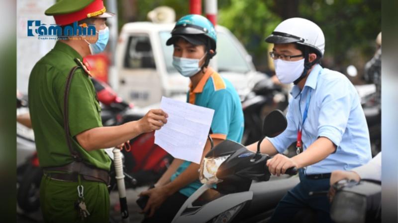 Điểm tin sáng 6/9: Hà Nội: 2 ngày đầu không xử phạt người chưa có giấy đi đường mới