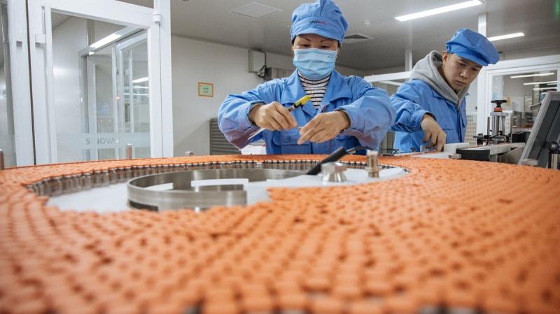 Khám phá nhà máy sản xuất vaccine của Sinovac