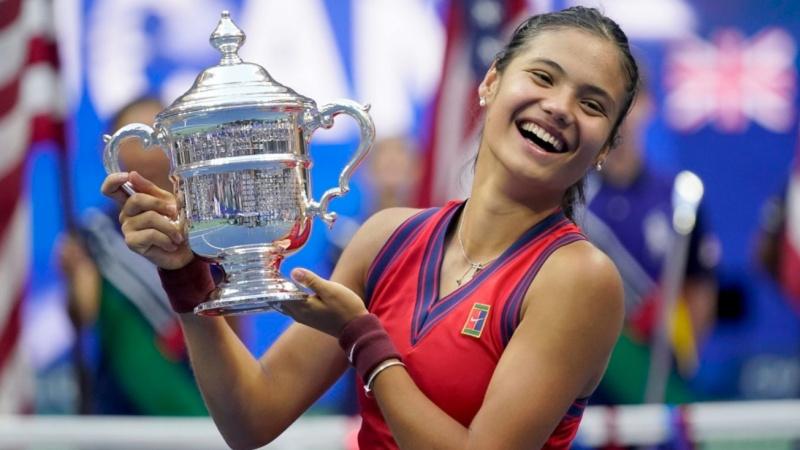 Tay vợt nữ 18 tuổi người Anh vô địch Giải quần vợt Mỹ mở rộng